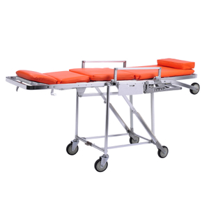 Used ambulance equipment folding stretcher chair trolley