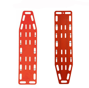 Plastic high strength medical immobilization spine board