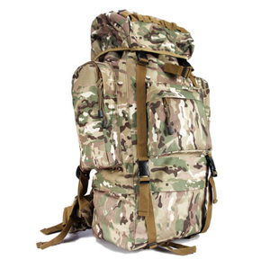 65L Durable Military Style Hiking Backpack