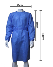 Non-woven Isolation Clothing